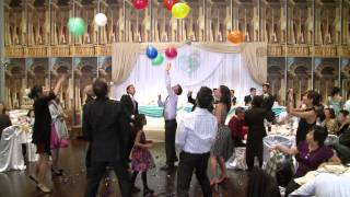 Funny Balloon Game at A Wedding Reception Premiere Ballroom & Banquet Hall Richmond Hill Toronto