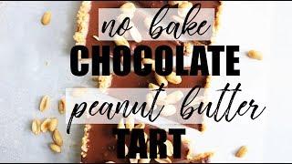 RECIPE// Chocolate Peanut Butter Tart (low carb + gf + df)