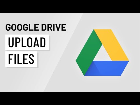 Google Drive Uploading Files