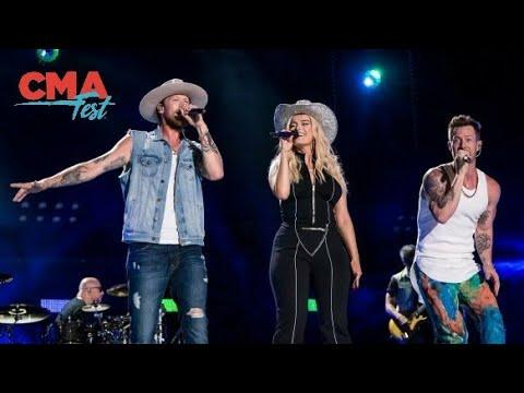 Xxx Mp4 Florida Georgia Line Amp Bebe Rexha Meant To Be Live At CMA Fest 2018 3gp Sex