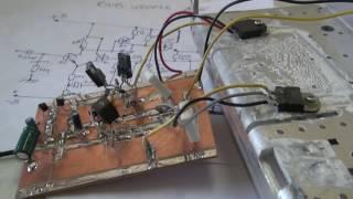 Amplificador sub woofer Caseiro potente com tip 35 ( Demonstração de som).