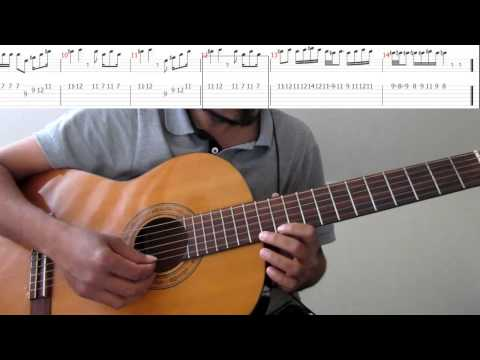 Xxx Mp4 How To Ilayanila Song Interludes Lead Guitar Tab Notation Slow Speed Fretboard Fingers 3gp Sex