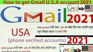 How to Create U.S.A verified gmail account/id 2017
