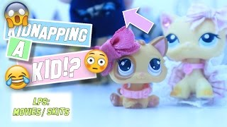 LPS: Kiddnapping a KID!? (Funny/Drama High School Skit)