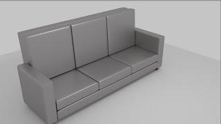 tutorial membuat sofa menggunakan blender 3d