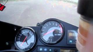 Honda 1998 CBR900RR FireBlade Private Track Acceleration