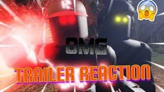 BLOX WATCH - A Roblox Horror Movie (Trailer) Reaction!!!