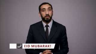 Nouman Ali Khan's video.  on Eid ul adha..Ibrahim and Prophet Muhammad (peace be upon them)