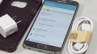 P79406 - Samsung Galaxy S6 SM-G920I - 64GB - Black Sapphire Smartphone UNLOCKED EXCELLENT