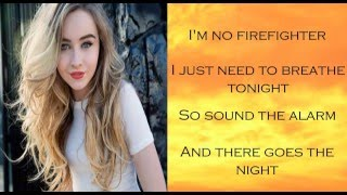 Smoke and Fire - Sabrina Carpenter (Lyrics)