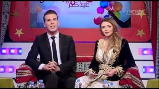 رجاء مزيان تعايد جمهورها بالجزائر بمناسبة عيد الفطر المبارك على dzair tv