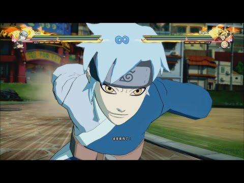 Naruto Ultimate Ninja Storm 4 Road to Boruto - Mitsuki DLC Complete Moveset 1080p