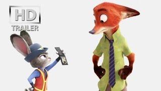 Zootopia |official trailer #1 US (2016) Disney Animation