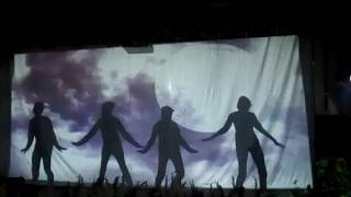 Shadow dance performance done by the students of Springs Dale College  Indira Nagar Lucknow