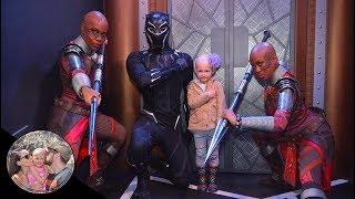Dora Milaje show our daughter it's ok to be bald! #BaldIsBeautiful | Disneyland vlog #91