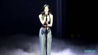 fancam 170520 taeyeon when i was young at persona in taiwan