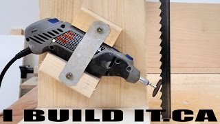 Easy Band Saw Sharpening Jig