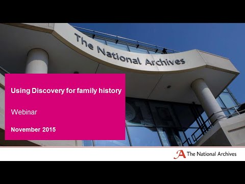 Xxx Mp4 WEBINAR Discovery For Family History 3gp Sex