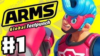 ARMS Global Testpunch Gameplay Part 1 (Nintendo Switch)