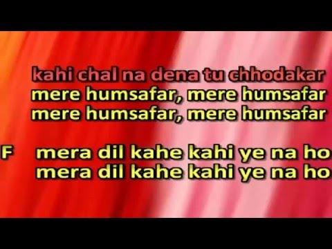 karaoke kisi raah main kisi mod per only for male singer