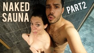 Naked Sauna Part 2