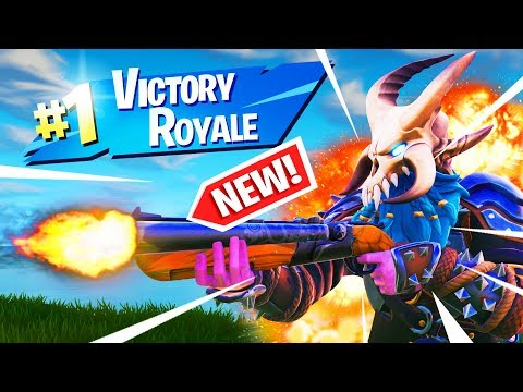 IN SEARCH OF THE NEW DOUBLE BARREL SHOTGUN Fortnite Battle Royale