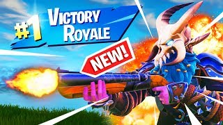 IN SEARCH OF THE NEW DOUBLE BARREL SHOTGUN!! | Fortnite Battle Royale