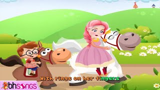 Ride A Cock Horse To Banbury Cross | Nursery Rhymes Songs For Children [ Vocal 4K ]