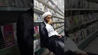 دردشة عابرة حول المنبر الحسيني