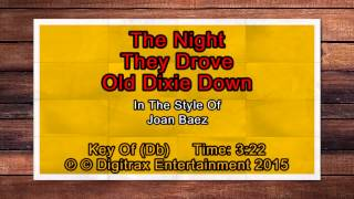 Joan Baez - Night They Drove Old Dixie Down, The (Backing Track)