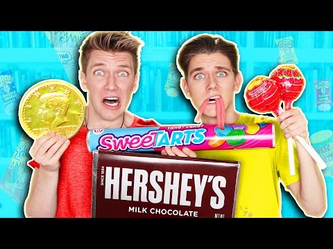 SOUREST GIANT CANDY IN THE WORLD CHALLENGE Warheads Toxic Waste EXTREMELY DANGEROUS