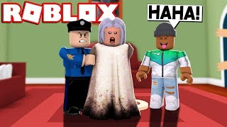 *NEW* GRANNY GETS ARRESTED IN ROBLOX