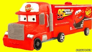Mack Truck Becomes Thomas & Friends Train! Kids Cartoons - Stop Motion Animations with Play Doh