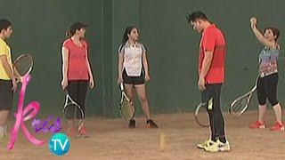 Kris TV: Legaspi family plays Tennis with Kris