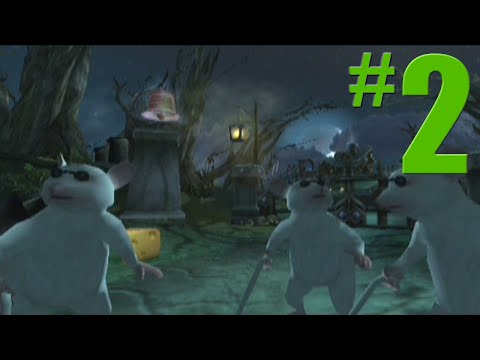 Shrek 2 Game Walkthrough Part 2 Spooky Forest No Commentary Gameplay Gamecube Xbox PS2