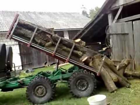 Wynalazek 6x6 Wehikuł ciągnik sam samoróbka traktor Uaz 4x4 OFF ROAD Krowica