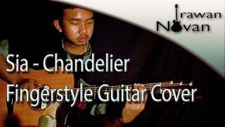 (Sia) Chandelier - Novan (Fingerstyle Guitar Cover)