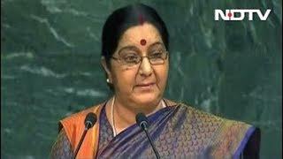 We Gave Birth To Doctors, Pak To Terrorists: Sushma Swaraj At UN