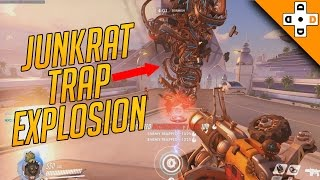 Overwatch Funny & Epic Moments 68 - JUNKRAT TRAP EXPLOSION - Highlights Montage
