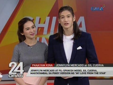 Jennylyn Mercado at  model Gil Cuerva, magtatambal sa Pinoy version ng