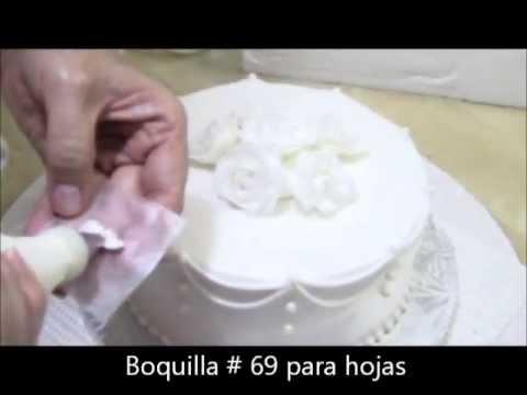 Pastel de Boda Wedding Cake