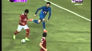 صالح جمعه يحرز هدف الاهلى الثالث فى مباراة مجنونة هدف عالمى... الاهلى VS اتحاد الشرطة 3 / 2