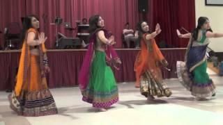 Urvi and Neil Wedding Garba Dance