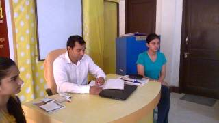 Interview at PD {District topper student of senior CBSE}
