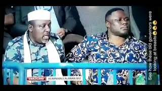 Governors of IMO and Cross river states stare in awe@half naked ladies@calabar carnival!