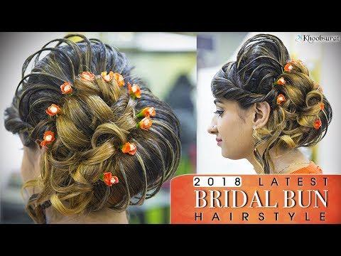 Xxx Mp4 Indian Bridal BUN Hairstyle Quick And Easy Step By Step HIGH Hair BUN Tutorial Video Pooja Goel 3gp Sex