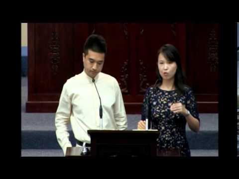 Liu Yang and Tsai I-Hsuan