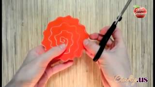 DIY+Paper+Crafts+-+Create+A+Twisted+Paper+Rose+In+Under+A+Minute+By+Following+These+Steps