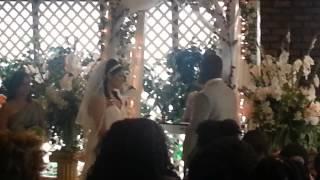 Sindi's wedding ceremony