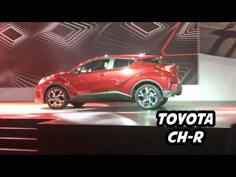 Global Reveal 2018 Toyota CH R Sub Compact Crossover